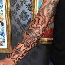 Skull Eye Makeup Smoke Skulls Mexican At Lost City Tattoo