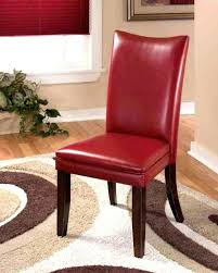 red chair dining red parsons chair marvelous leather with chairs dining burdy covers red parsons chair red chair dining