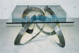 dining table legs and bases types with pictures artistic chrome curve metal base for glass