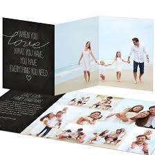 Faith And Family Trifold Christmas Card