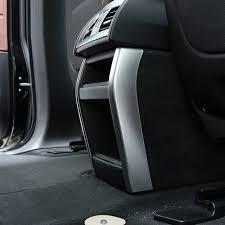 bmw 2014 x5 interior. chrome car interior rear center console storage box side frame trim for bmw x5 x6 2014 bmw