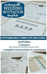 Microsoft Invitation Direction Card Template Wedding Invitation Microsoft Word Margines