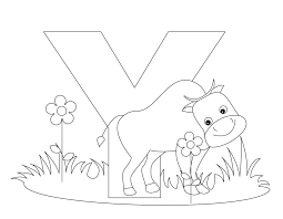 Small Picture Free Coloring Page Letter Y