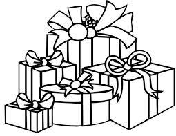 Kleurennu Cadeautjes Voor Kerst Kleurplaten
