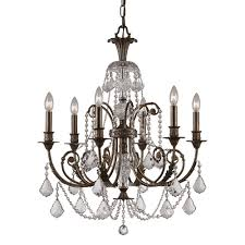 clear globe light chandelier crystal parts venetian wire mauve bulbs black archived on lighting with