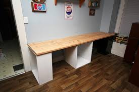 white gray solid wood office. Wonderful Long Computer Desk Awesome Home Furniture Ideas With Hutch 12 Fascinating White Gray Solid Wood Office L