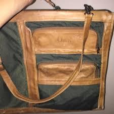 vintage orvis leather garment luggage
