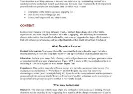 What Should Your Objective Be On Your Resume List Of Resume Objectives Sample Career Examples Objective 99