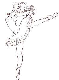 Small Picture Free Printable Ballet Coloring Pages For Kids