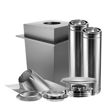 triple wall manufactured home chimney stove vent kit