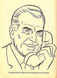 Vintage Coloring Book Illustration Of The Day Pundit From Another