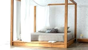 Four Post Bed Queen 4 Post Queen Bed Queen Poster Bed Frame ...