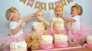 Twins Birthday Cake 1st Ideas Iqtesting