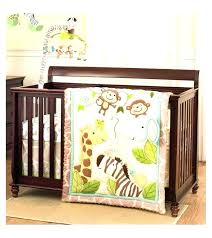 animal baby bedding forest