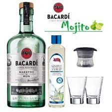 the mojito ron bacardi maestro l kit l kits gift sets by