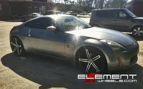 nissan 350z 2015 black. lexani r03 blackmachined on nissan 350z 2015 black