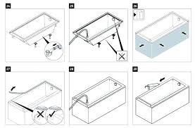 kohler bathtub faucet bathtub installation instructions installation in tub drop tile kit bathtub faucet installation