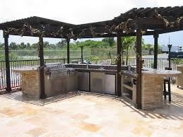 Bbq Outdoor Kitchen Kits Outdoor Kitchen Island With Refrigerator Best Kitchen Ideas 2017