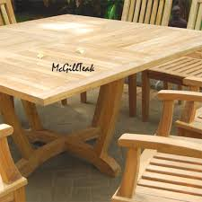 unique ana white simple square cedar outdoor dining table diy projects 2017 with for 8 inspirations