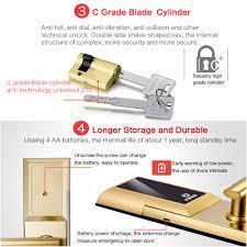 Lanxstar Bluetooth Rfid Kart şifre Akıllı Kilit Anti-hırsızlık Kapı  Elektronik Akıllı Kilit Mekanik Kilit 304 Paslanmaz çelik \ Araçlar <  MoneyFactory.news