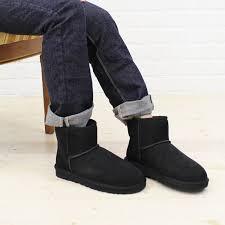 color image of ugg australia アグオーストラリア sheepskin ankle boots w classic mini