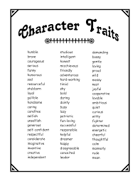 amusing good character traits resume for your personality traits   captivating good character traits resume even positive emotions should be controlled somewhat if they are