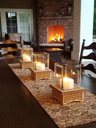 tabletop glass fireplace this indoor outdoor lantern can add light to your patio and roast s mores too