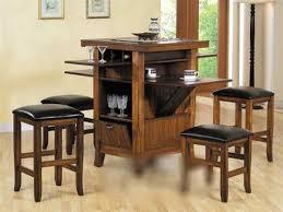 image of kitchen pub table set