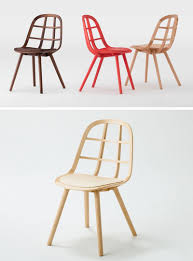 Unique wood chair Broken This Simple Yet Stylish Chair Uses Interlocking Wood Strips To Create Sturdy Dining Chair With Unique Design Contemporist Furniture Ideas 14 Modern Wood Chairs For Your Dining Room