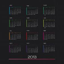 Calendar 2013 Template Calendar 2013 Clean Business Calendar Design Template