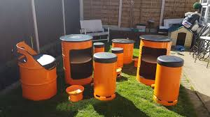 drum furniture. Oil Drum Furniture O