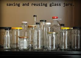 creative idea #18: saving and reusing glass jars