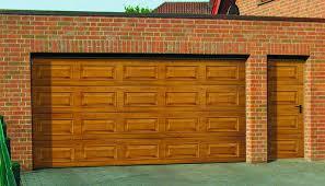 wood double garage door. Wood Design Georgian Panel Sectional Garage Door Double