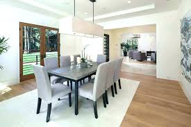 rectangular dining chandelier room chandeliers height for table modern
