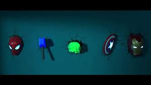 3dlightfx Marvel Avengers Hulk Fist 3d Deco Light Marvel 3d Lights Pogot Bietthunghiduong Co
