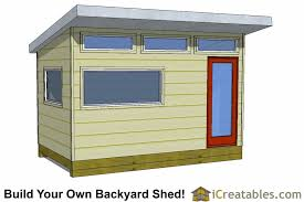 garage plans with office. 8x14 Modern Office Shed Plans Garage With Y