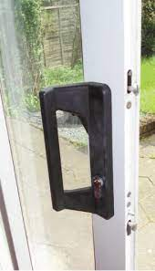 replacing the lock on a sliding door