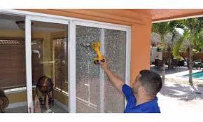 boca raton s sliding glass door repair experts express glass releases dual alert on emergency glass repair and hurricane preparedness