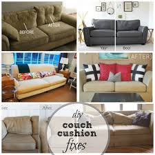reupholster sofa cushions home design ideas and pictures diy couch covers cushion fixes at remodelaholic com