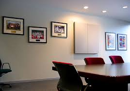framed wall art office