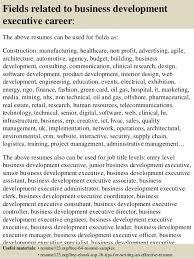 business development executive resume sample  seangarrette cotop  business development executive resume samples    business development executive resume