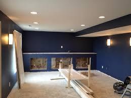 diaries basements and paint on pinterest basement lighting options