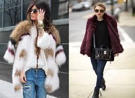 top 10 star s faux fur coats