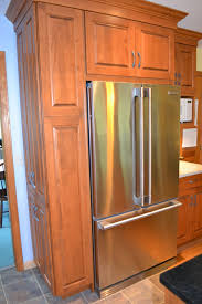 24 deep refrigerator. Next We Have The Enclosure For Refrigerator. It Is Comprised Of Two Long Wooden Panels Down Both Sides, A 24\ 24 Deep Refrigerator O