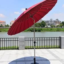8 2 ft outdoor wind resistant patio umbrella 912al 1