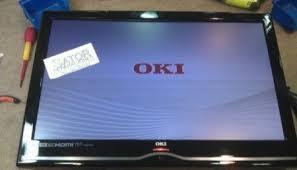 Television Oki  ClasfTelevision Oki Se Oye Pero No Se Ve