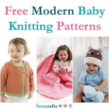 Baby Patterns Fascinating 48 Free Modern Baby Knitting Patterns FaveCrafts