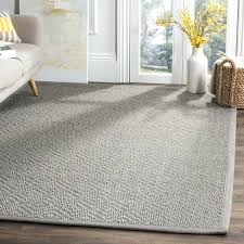 natural fiber contemporary geometric jute light grey area rug rugs annabel blue