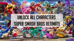 Smash Ultimate Classic Mode Unlock Chart How To Unlock Every Character In Super Smash Bros Ultimate