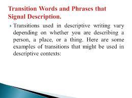 Descriptive Essay Of A Person Examples Creating An Mla Template Mountain View College Write A Descriptive